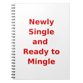 Newly Single and Ready to Mingle - 2 - Red Note Book