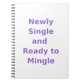 Newly Single and Ready to Mingle - 2 - Violet Note Book