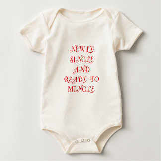 Newly Single and Ready to Mingle - 3 - Red Baby Bodysuit