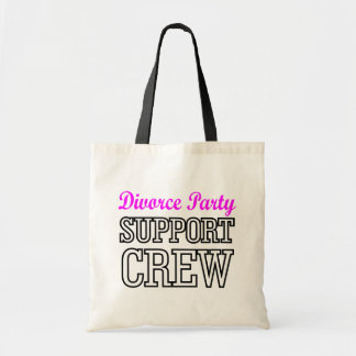 newly single break up support crew divorce party tote bag
