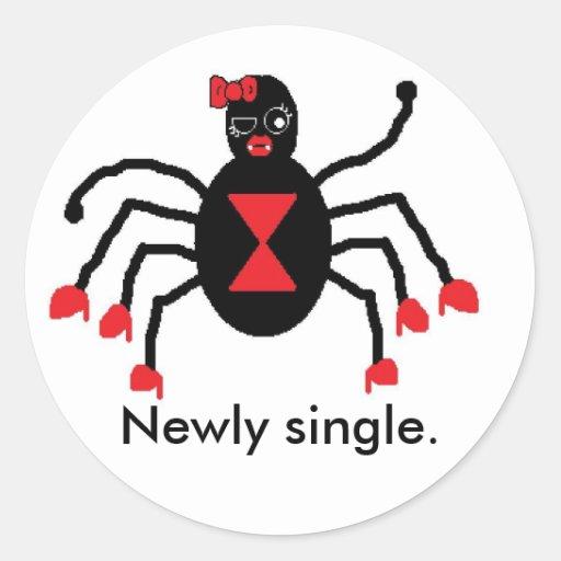 Newly single stickers