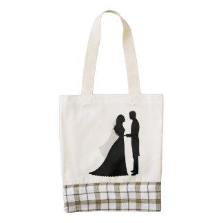 Newly-Wed Bag Zazzle HEART Tote Bag