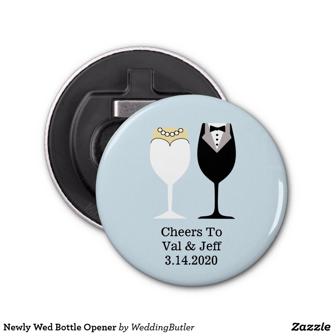 Newly Wed Bottle Opener