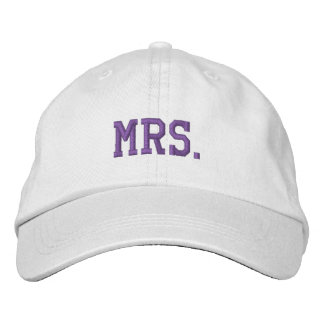 Newly Wed Mrs. Embroidered Ball Cap