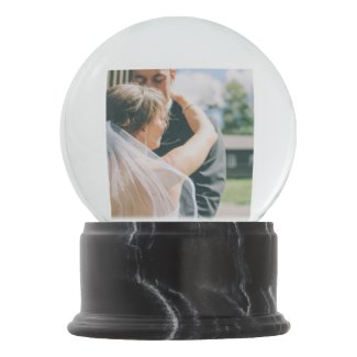 Newly Wed Snow Globe