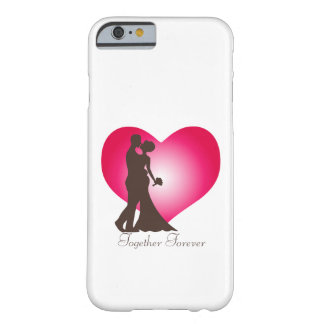 Newly wedded couple barely there iPhone 6 case
