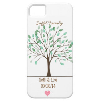 Newly Weds Family Tree iPhone 5/5s Phone Case! iPhone SE/5/5s Case