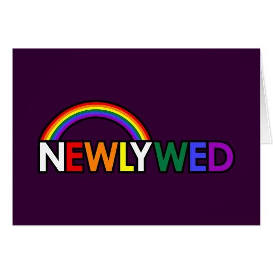 NEWLYWED Card