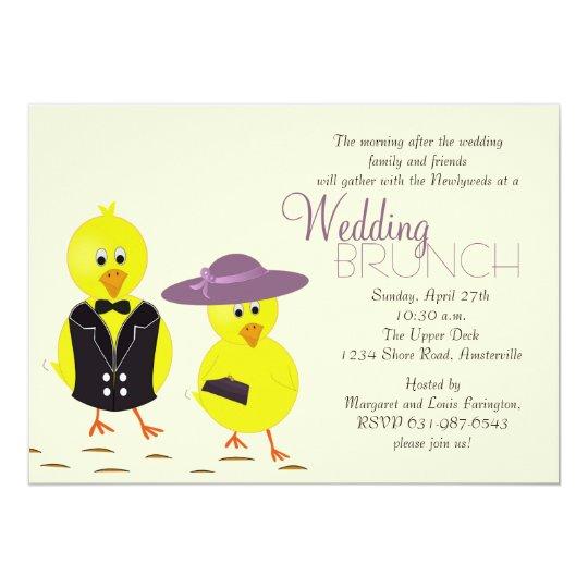 Wedding Chicks Free Invitations: Newlywed Chicks Post Wedding Brunch Invitation