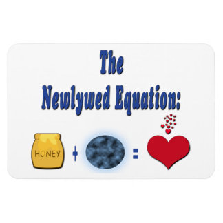 Newlywed Equation Magnet