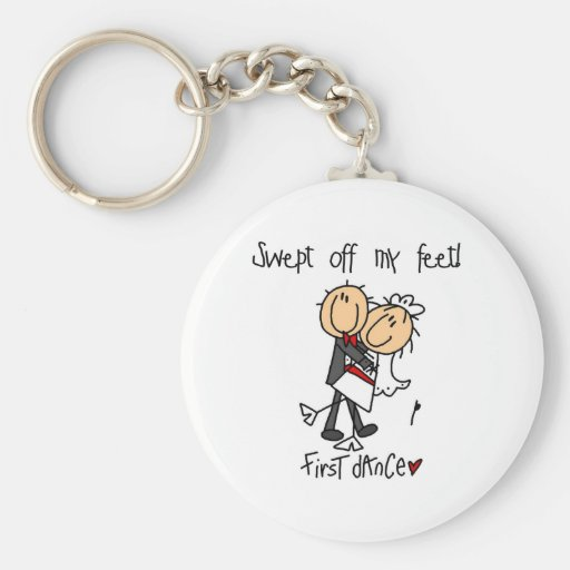 Newlywed First Dance Tshirts and Gifts Key Chain