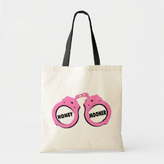 Newlywed Honeymoon Wedding Handcuffs Tote Bag