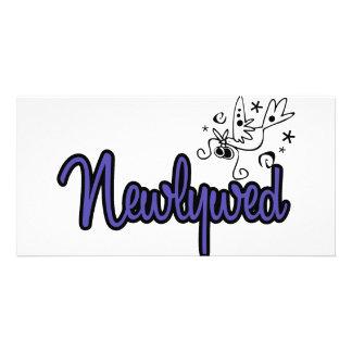 Newlywed-Indigo Blue Card