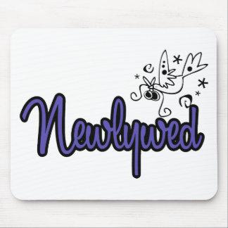 Newlywed-Indigo Blue Mouse Pad