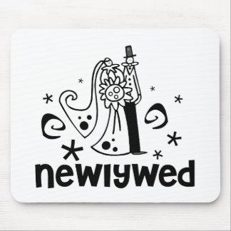 Newlywed Mouse Pad