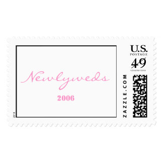 Newlyweds 2006 postage