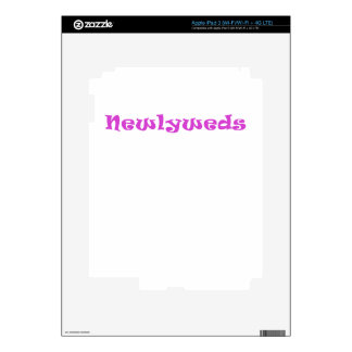 Newlyweds iPad 3 Decals