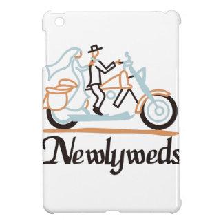Newlyweds on Motorbike iPad Mini Cover