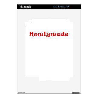 Newlyweds Skin For iPad 2