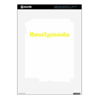 Newlyweds Skin For iPad 3