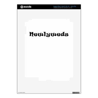 Newlyweds iPad 3 Skin