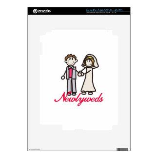 Newlyweds iPad 3 Decal
