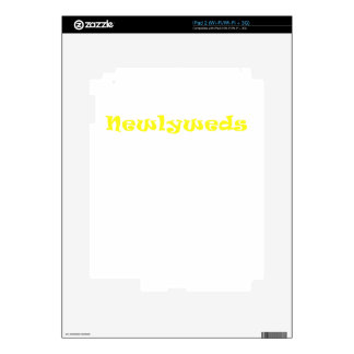 Newlyweds Skins For iPad 2