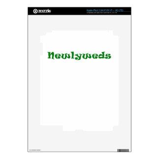Newlyweds Skins For iPad 3