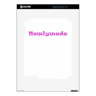 Newlyweds Skins For The iPad 2