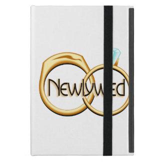 Newlyweds Wedding Rings iPad Mini Cover