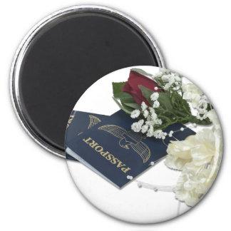 NewlywedsTraveling101610 Magnet