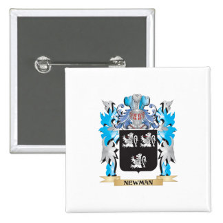 Newman Coat of Arms - Family Crest Pin