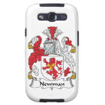 Newman Family Crest Samsung Galaxy SIII Cases