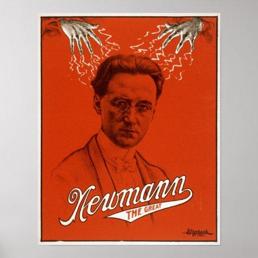 Newmann el gran poster mágico