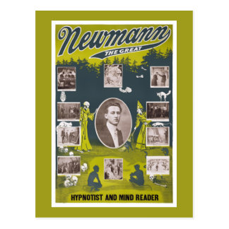 Newmann el grande - poster 1916 del vintage postal