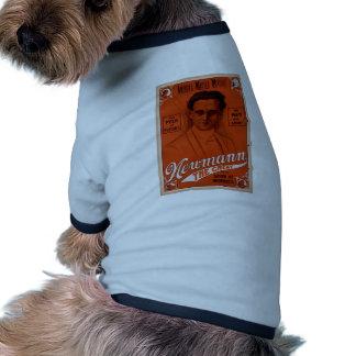 NewMann el grande y su demostración de las marav Camiseta De Mascota