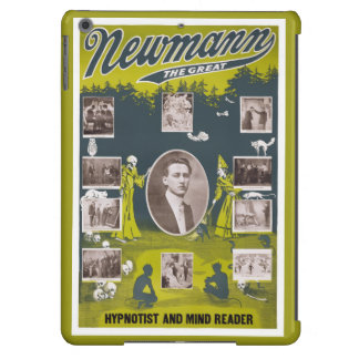 Newmann the Great - 1916 Vintage Poster Restored Cover For iPad Air