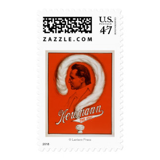 Newmann the Great Magician Poster #1 Postage Stamp