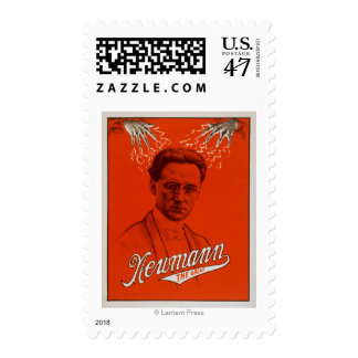 Newmann the Great Magician Poster #2 Postage
