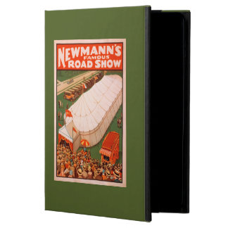 Newmann's Famous Magic Road Tent Show Poster Cover For iPad Air
