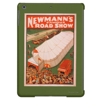 Newmann's Famous Magic Road Tent Show Poster iPad Air Case