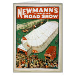 Newmanns Famous Road Show Card
