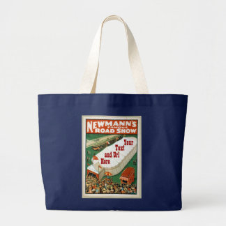Newmanns Famous Road Show Large Tote Bag