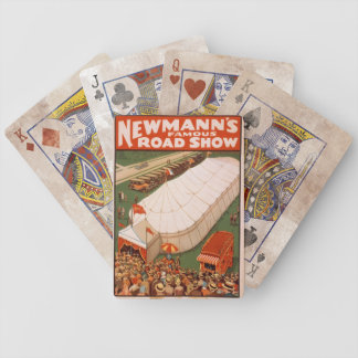 Newmann's Famous Road Show playing cards