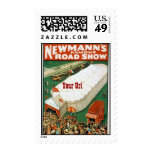 Newmanns Famous Road Show Postage Stamps
