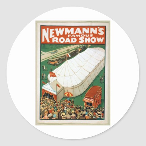 Newmanns Famous Road Show Sticker