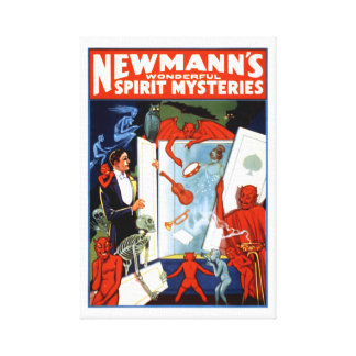 Newmann's Spirit Mysteries Canvas Print
