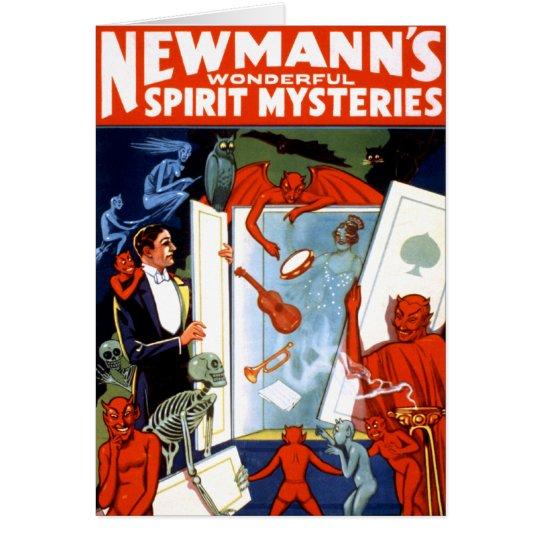 Newmann's Spirit Mysteries Card