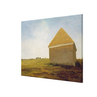 Newmarket Heath, with a Rubbing-Down House, c.1765 Stretched Canvas Print