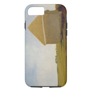 Newmarket Heath, with a Rubbing-Down House, c.1765 iPhone 8/7 Case